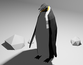 Emperor Penguin 3D model