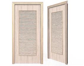 3D asset Carved Door Blinds 04