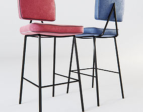 3D model Mambo Unlimited Ideas - State bar chair