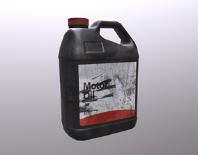 Used canister 3D model