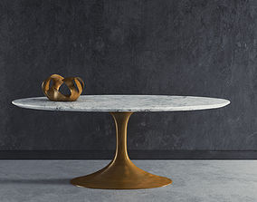 Aero Marble Dining Table 3D