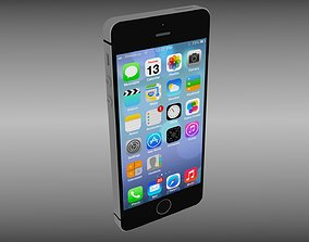 Iphone 5S Black 3D