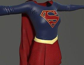 Supergirl CW 3D model