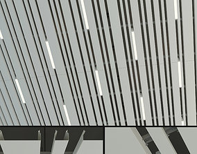 3D asset Suspended ceiling rack and pinion 9