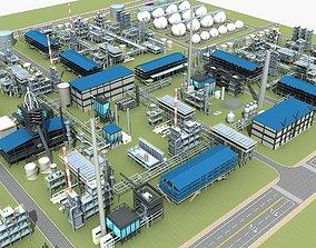 3D model Refinery 02