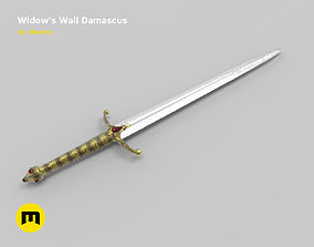 Widows Wail sword 3D print model