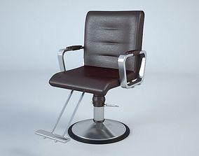 obj Barber Chair 3D model