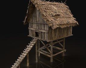 3D model Next Gen Cote Hovel Chicken Coop Cage