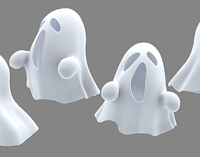 3D good ghost character