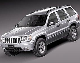 3D model Jeep Grand Cherokee 1999-2005