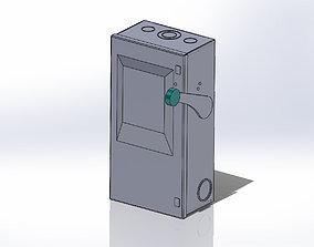 Seimens Industrial Switch 3D model