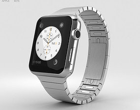 3D model Apple Watch Series 2 38mm Stainless Steel Case 2