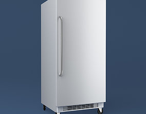 3D Commercial Upright Freezer