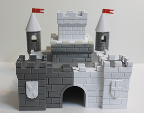 3D printable model castle 4