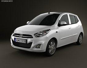 3D model Hyundai i10 2011