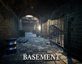 3D asset Basement for Unreal