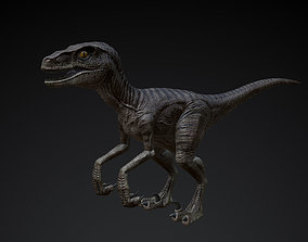 3D printable model Raptor - Low Poly