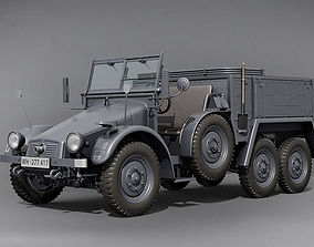 Krupp Protze Kfz 70 Germany 1934 3D