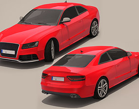 3D model game-ready Audi Rs4