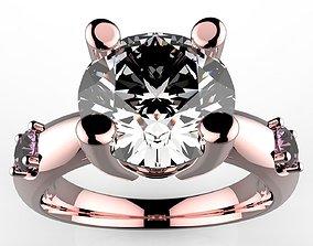 Fine Jewelry Women Trilogy Ring - CC41 3D printable model