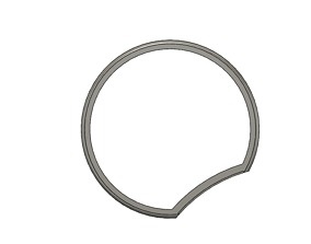 Mickey Mouse Headband Blank Ear V5 3D printable model