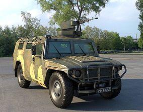 3D model GAZ-233014 Tiger