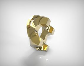 3D print model Golden Part Jewelry Making