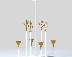 3D Vincennes Chandelier by Bourgeois Boheme Atelier