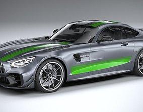3D Mercedes AMG GT-R PRO 2020