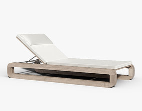 3D model Continuous Line Chaise by Sutherland