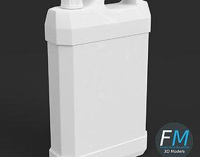 3D Gallon plastic jug