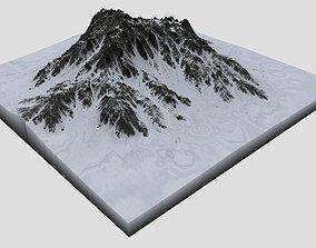 3D Snowy Mountain MTT06