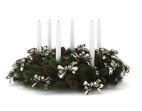 Christmas Table Decoration 7 3D model