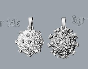 Covid-19 pendant 3D print model