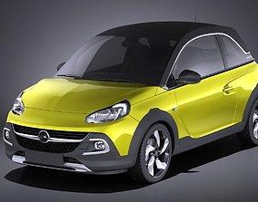 Opel Adam Rocks 2017 VRAY 3D