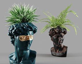 head david vase 3D
