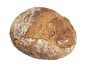 Photorealistic Bread 3D Scan
