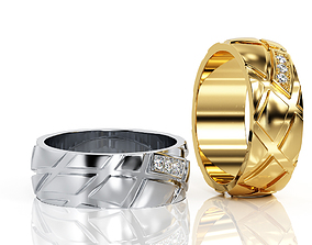 Ring Band R BA 0028 3D print model