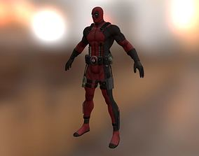 arri 3D printable model Deadpool