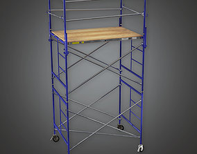 HLW - Production Scaffold - PBR Game Ready 3D asset