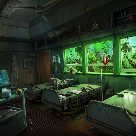 2D Concept Scenes
