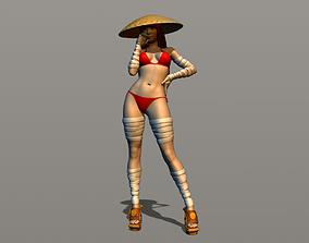 3D print model Almost anime girl