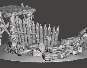 3D printable model Fortified Outlook