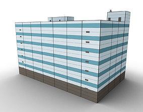 3D asset Car Parking Building 3