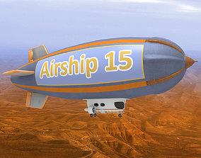 3D model Airship