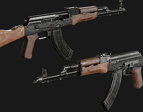 Automatic rifle AKM 3D asset