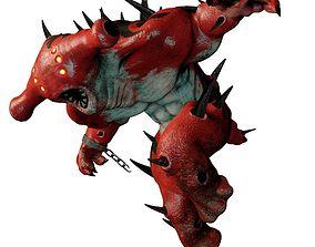 Spiky Creature 3D model