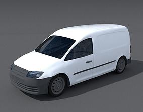 Delivery Van commercial 3D model