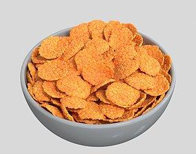 3D model Corn Flakes Bowl
