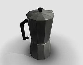 Coffee pot 3D cookware
